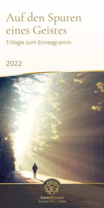 Flyer Trilogie zum Enneagramm 2021